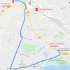 Plan d'accès Refuge des Trois-Ponts